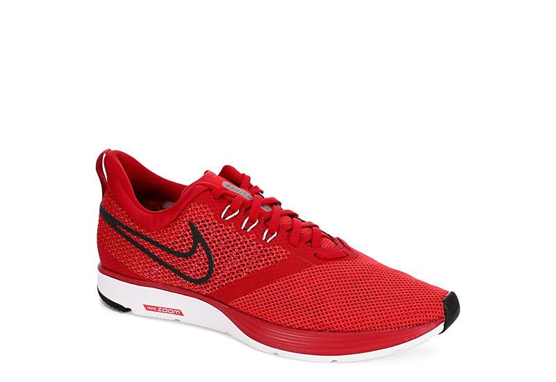 6ffd4b3a9b7 Nike Mens Zoom Strike Running Shoe - Red