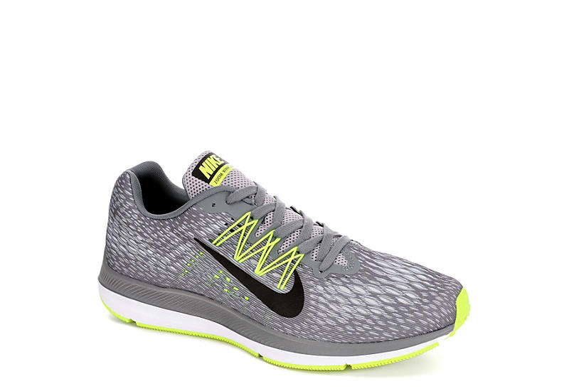 27c60551e88 Nike Mens Zoom Winflo 5 Running Shoe - Grey