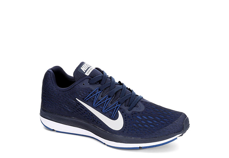 483d95039aba ... navy blue white 880554 014 mens footwear running shoes discount nike  mens zoom winflo 5 running shoe e1cc1 fc23d ...