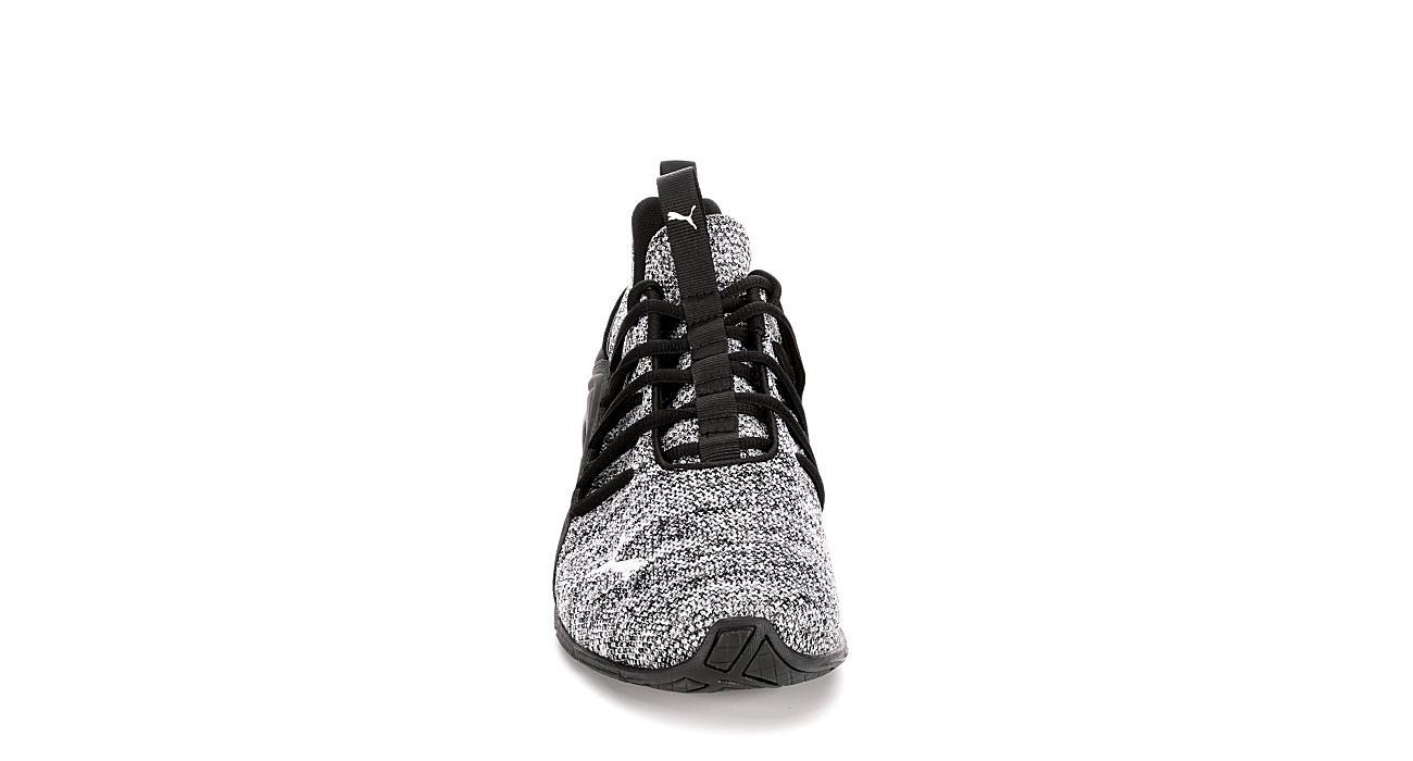 PUMA Mens Axelion Sneaker - GREY