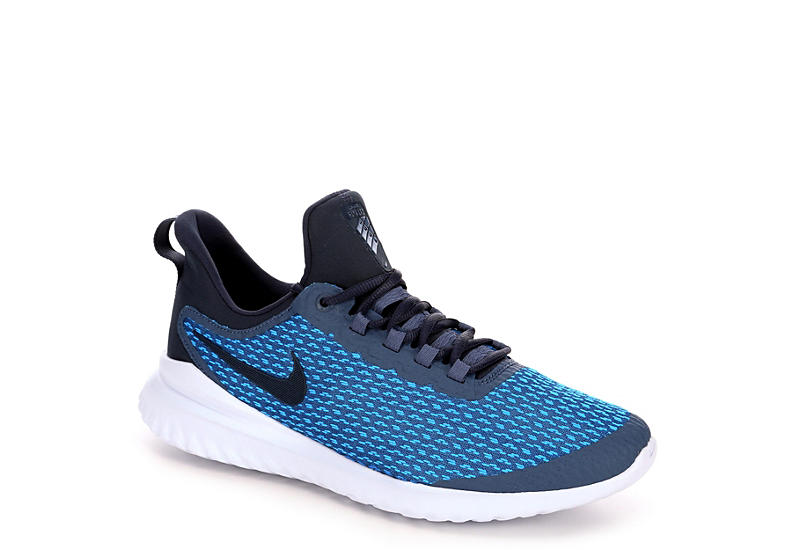 NIKE Mens Renew Revival Running Shoe - BLUE