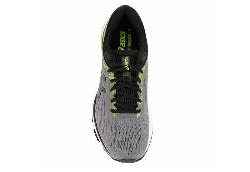 ASICS Mens Gt 1000-7 Running Shoe - GREY