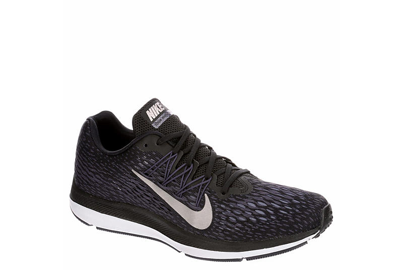 best website d92de 4564c BLACK NIKE Mens Zoom Winflo 5 Running Shoe