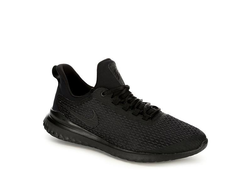 BLACK NIKE Mens Mens Renew Rival Running Shoe