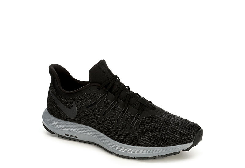6e5fbb0bb0 Black Nike Quest Men's Running Shoes | Off Broadway Shoes