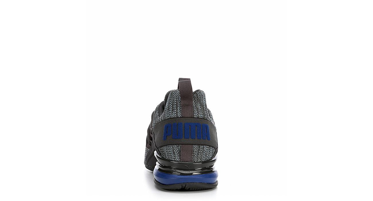 d432f8523aee7e Puma Mens Cell Axelion Running Shoe - Dark Grey