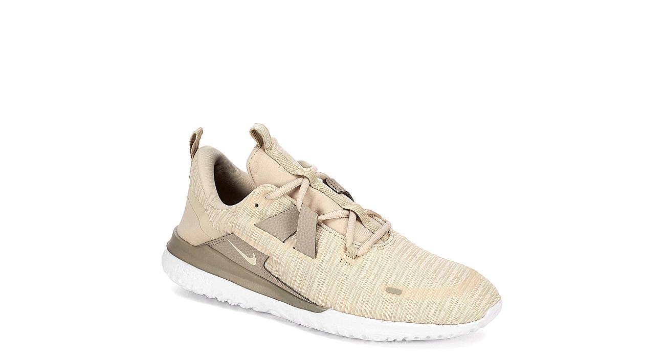 07ba338079f Nike Mens Renew Arena Run Running Shoe - Beige
