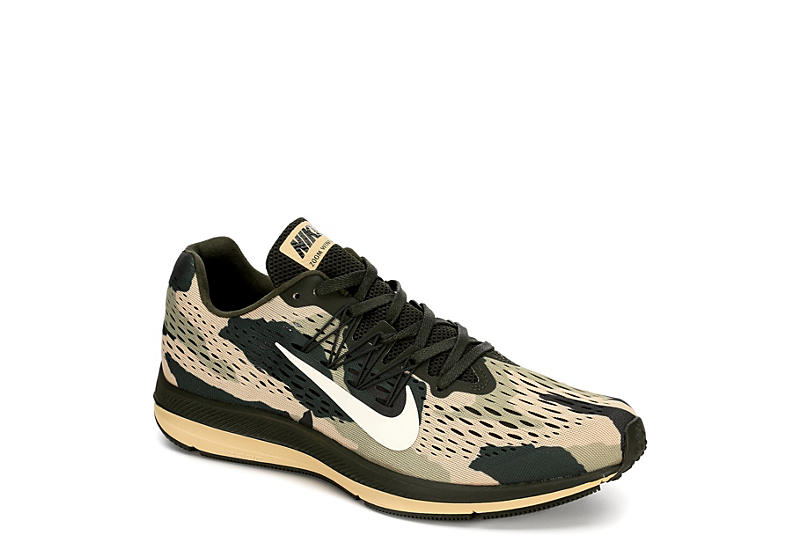 online store d34c0 ff3ed Nike Mens Zoom Winflo 5 Running Shoe - Olive