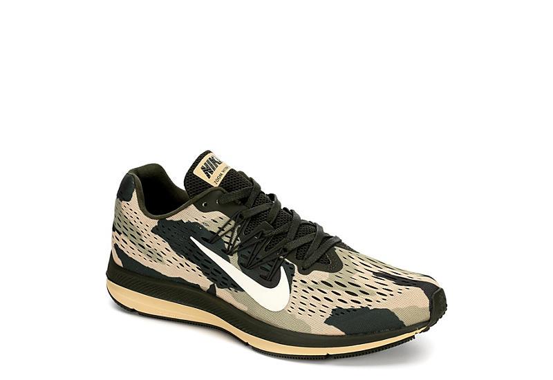 ffa1a0cd47a2 Nike Mens Zoom Winflo 5 Running Shoe - Olive