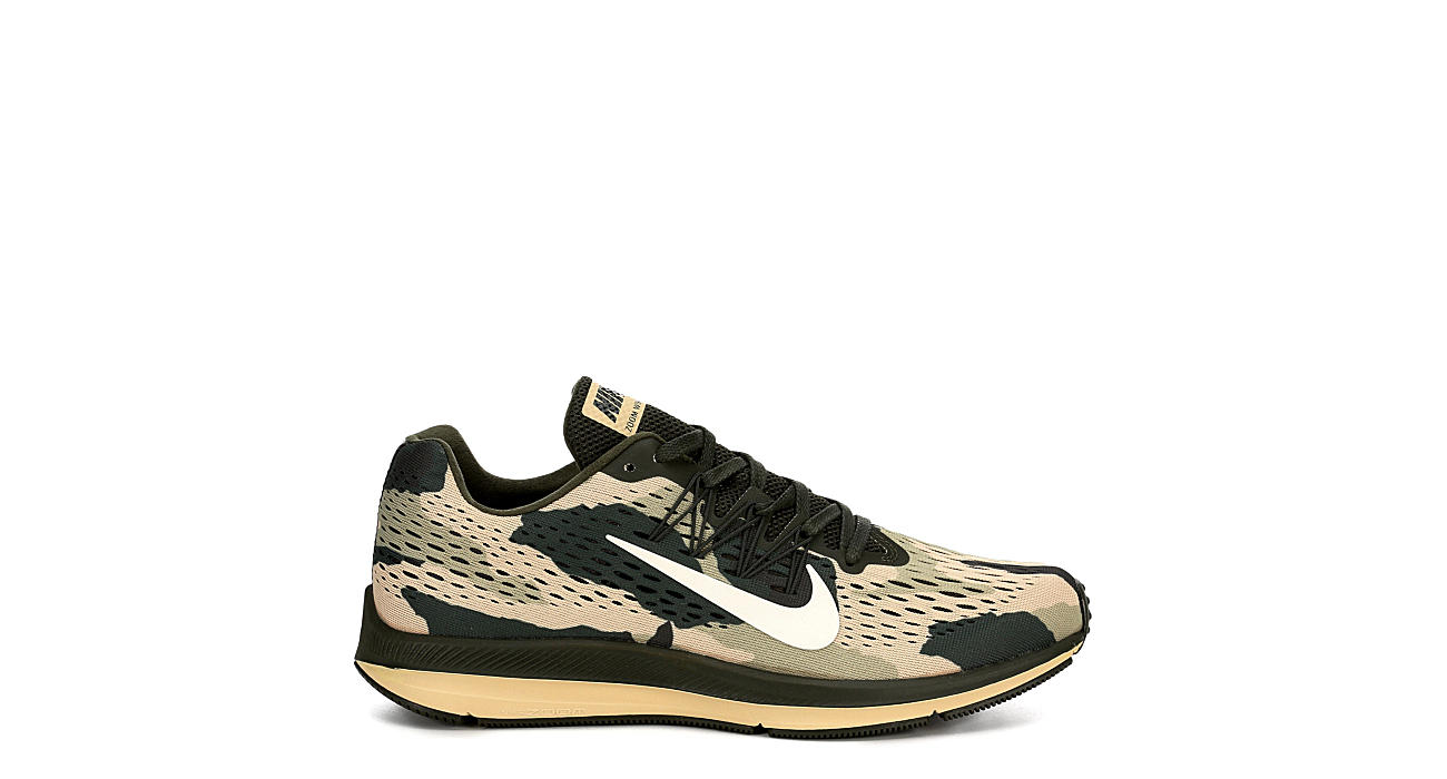 23afef3031687 Nike Mens Zoom Winflo 5 Running Shoe - Olive