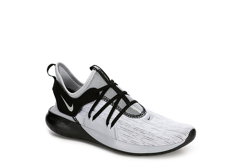 a5b0e01cad09a GREY NIKE Mens Flex Contact 3 Running Shoe