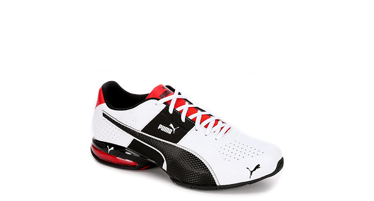 PUMA Mens Cell Surin 2 Running Shoe - WHITE