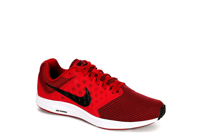 new style 4f077 67765 RED NIKE Mens Downshifter 7 Running Shoe