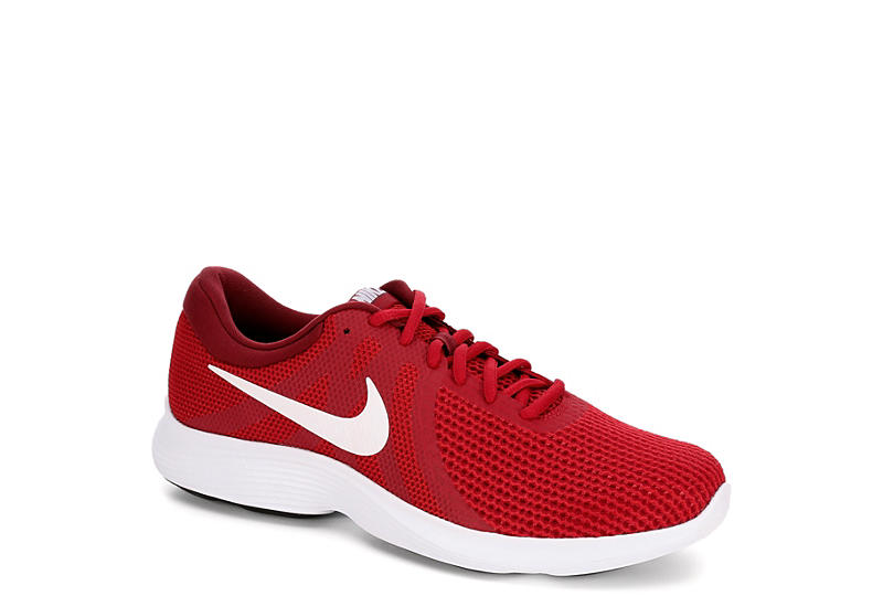0196a157e6df Red Nike Revolution 4 Men s Running Shoes