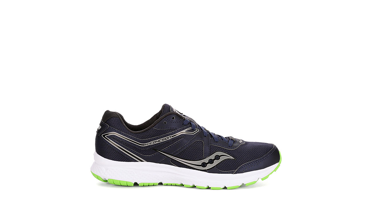 SAUCONY Mens Cohesion 11 Running Shoe - NAVY