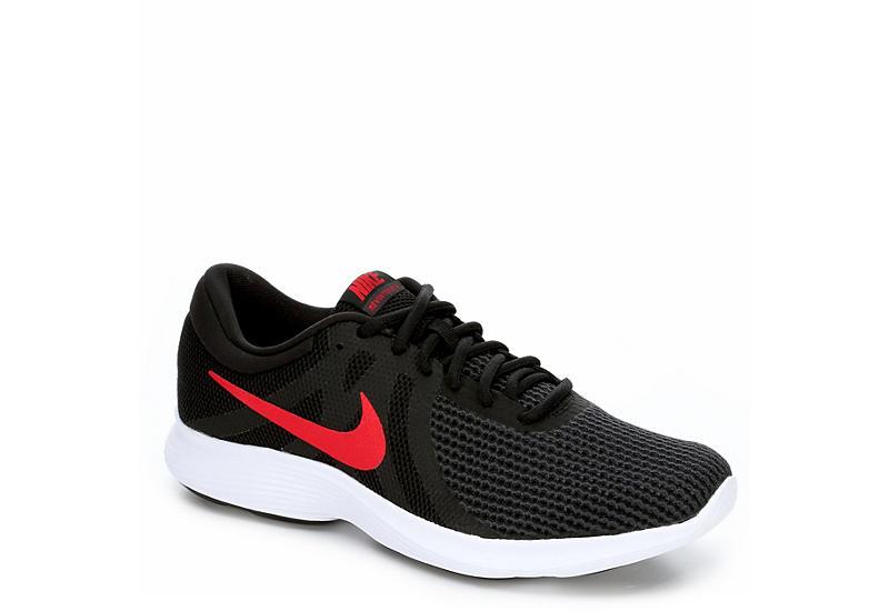 678a2386d0a3 Black Nike Mens Revolution 4 Running Shoe