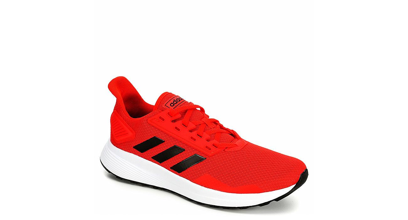 ADIDAS Mens Duramo 9 Running Shoe - RED
