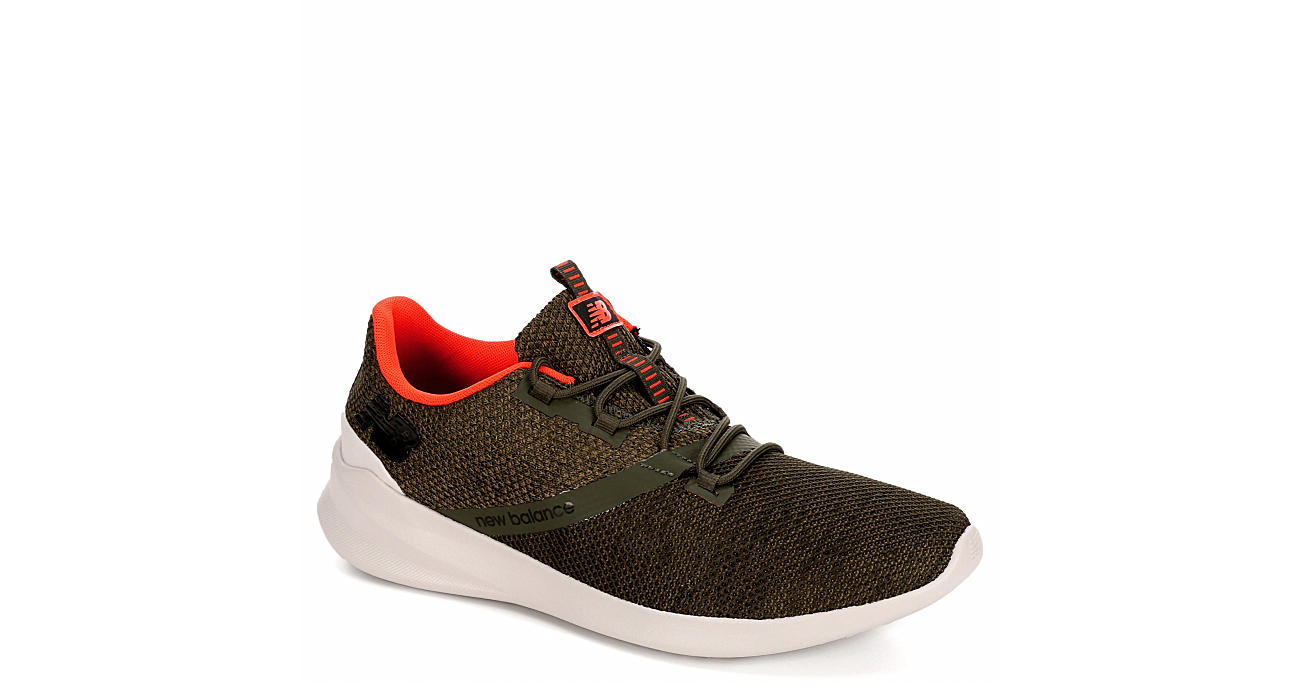 NEW BALANCE Mens District Run Running Shoe - OLIVE