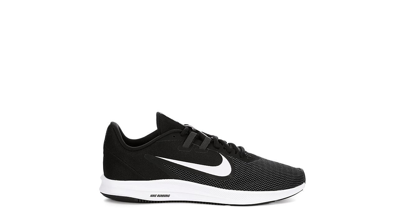 super popular 4058f 0d396 Nike Mens Downshifter 9 Running Shoe - Black