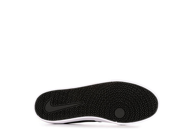 NIKE Mens Sb Charge Sneaker - BLACK