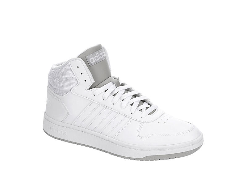 adidas Hoops 2.0 Mid Shoes White | adidas US