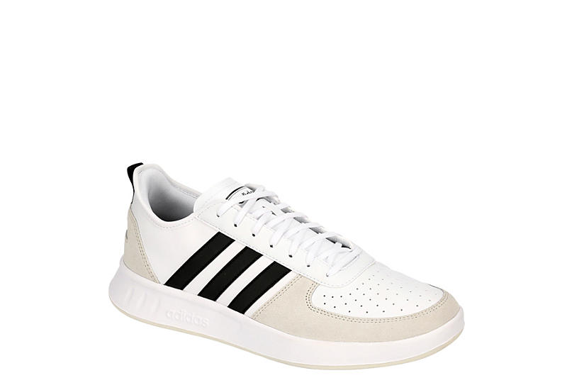 WHITE ADIDAS Mens Court 80s Sneaker