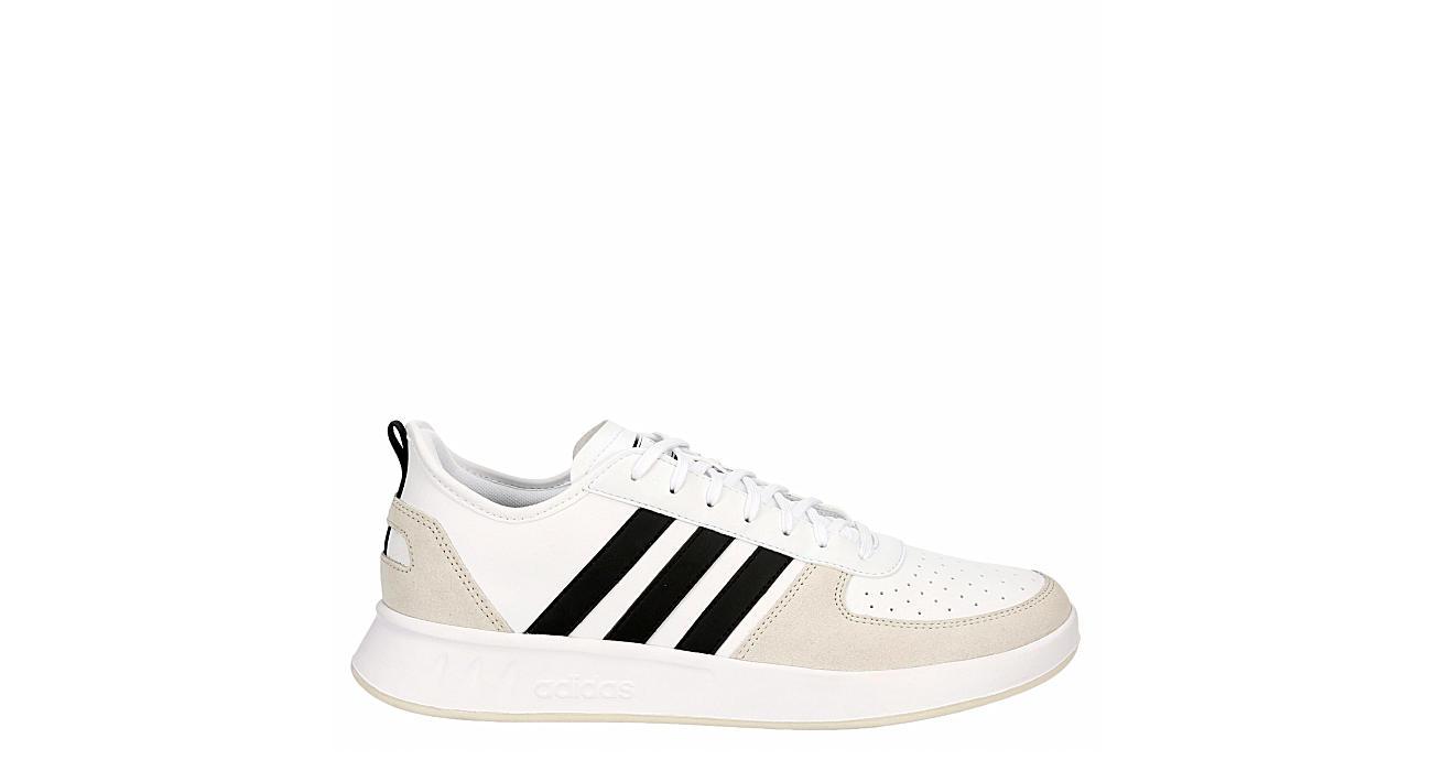 ADIDAS Mens Court 80s Sneaker - WHITE