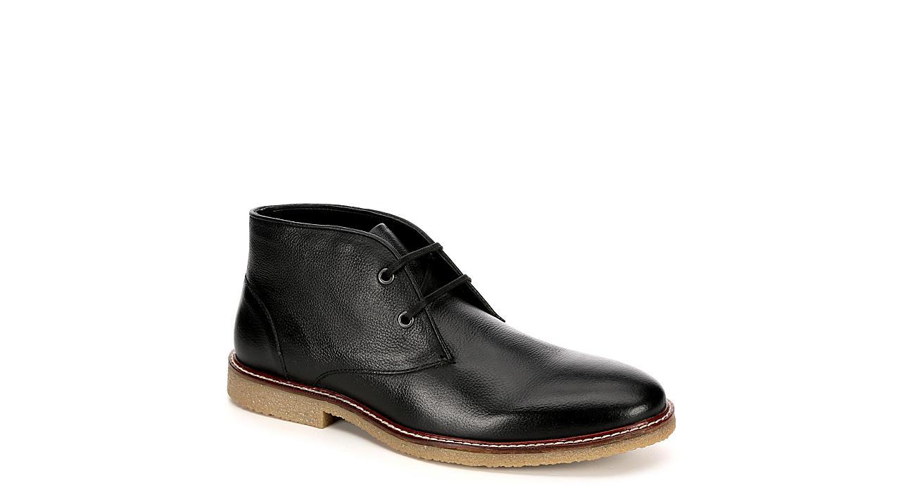 FRANCO FORTINI Mens Knox Chukka Boot - BLACK