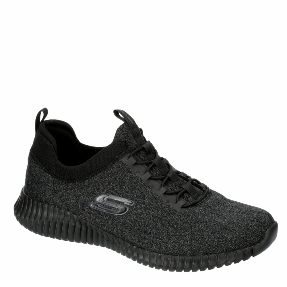 skechers running shoes black