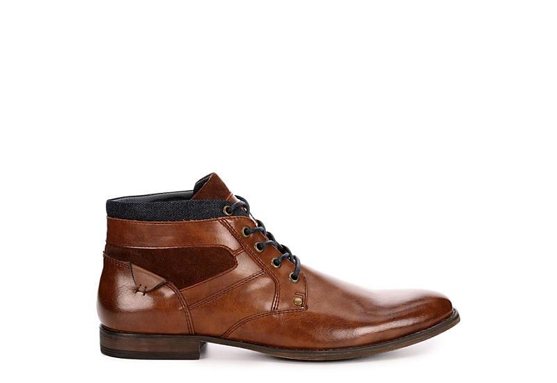 RESTORATION Mens Al Chukka Boots - TAN