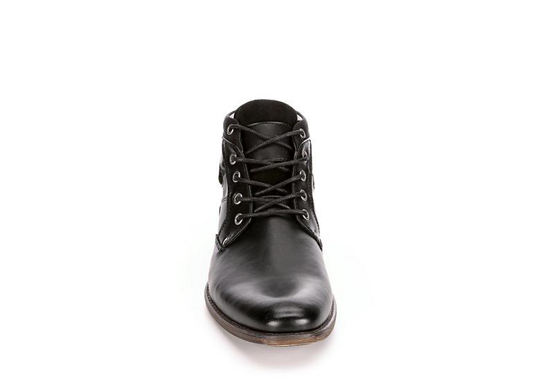 RESTORATION Mens Al Chukka Boot - BLACK