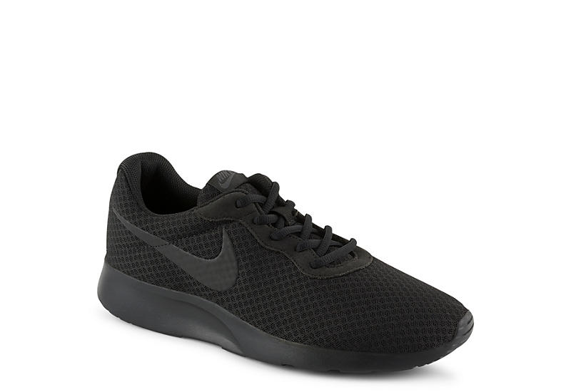 NIKE Mens Tanjun Sneaker - BLACK