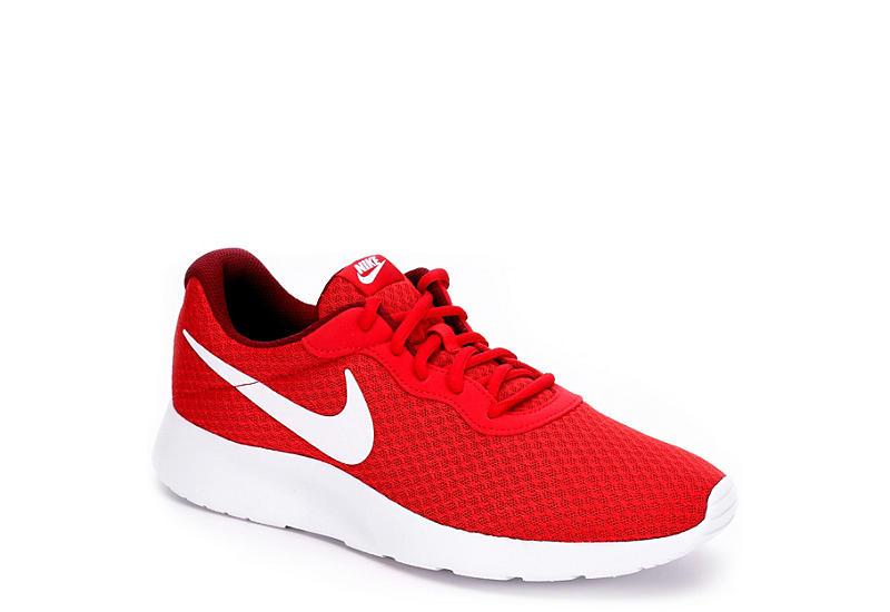 red nike mens tanjun scarpe da ginnastica atletica off  broadway scarpe