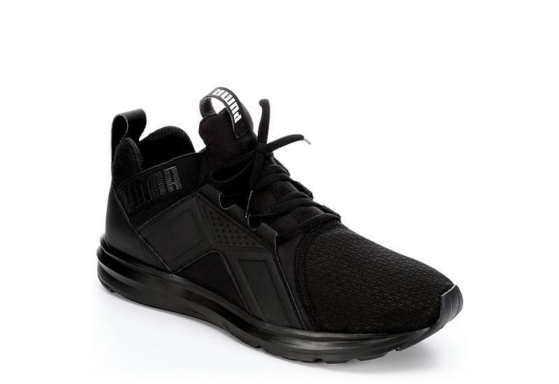 71d0558844b53c Puma Mens Enzo Sneaker - Black