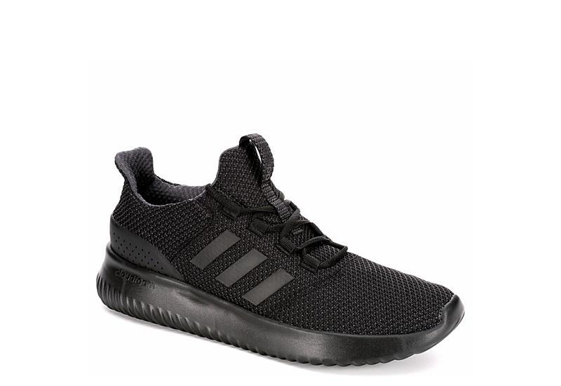 black adidas mens cloudfoam scarpe da ginnastica atletica da ultimo