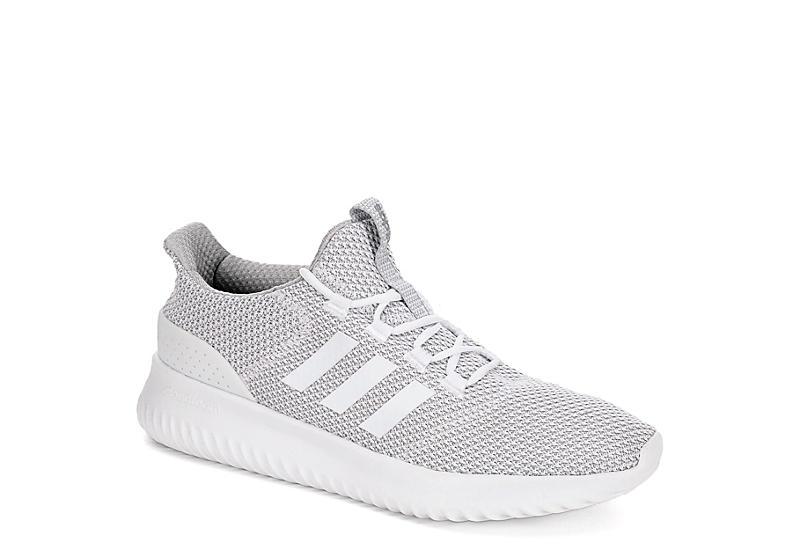 grey adidas mens cloudfoam scarpe da ginnastica atletica da ultimo