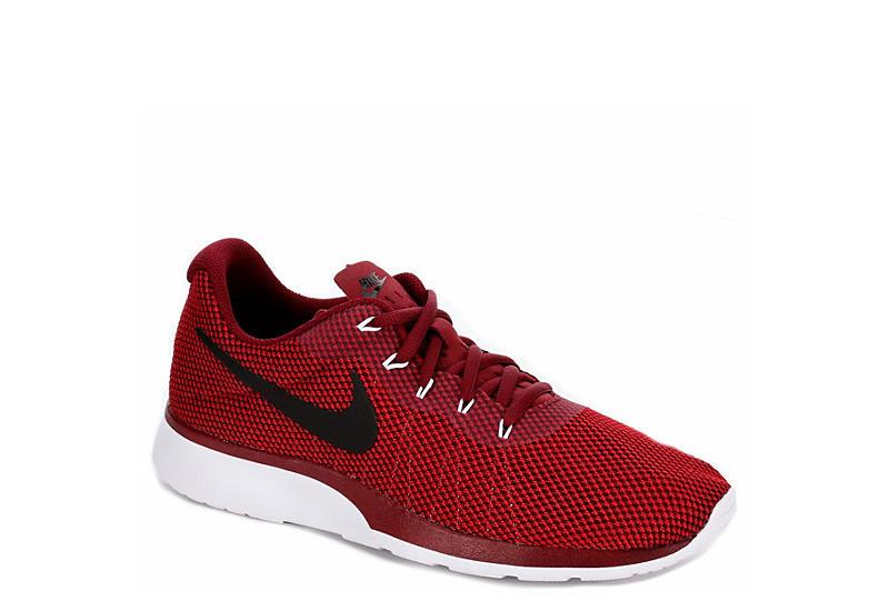 cfc8593cd934 Red Nike Tanjun Racer Men s Sneakers
