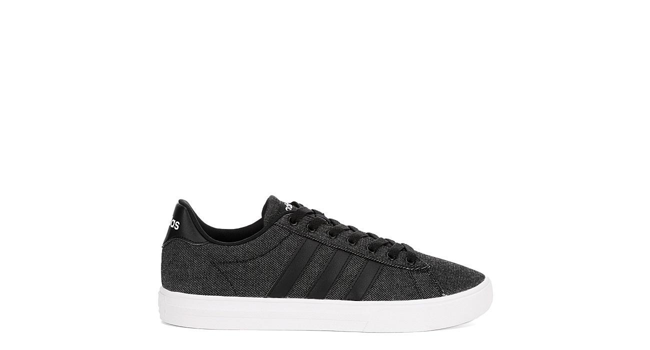 big sale 06d89 766f6 Adidas Mens Daily 2.0 Denim Sneaker - Black
