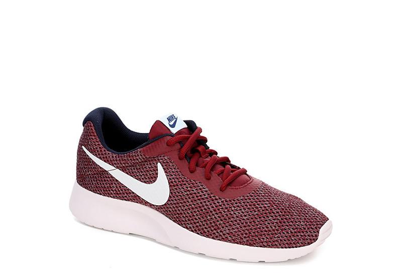 wholesale dealer f76e3 b28e0 Nike Mens Tanjun Se Sneaker - Red