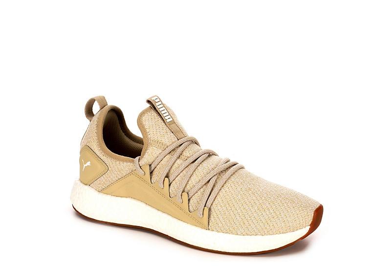 f905f9e04e9f Puma Mens Nrgy Neko Knit Sneaker - Beige