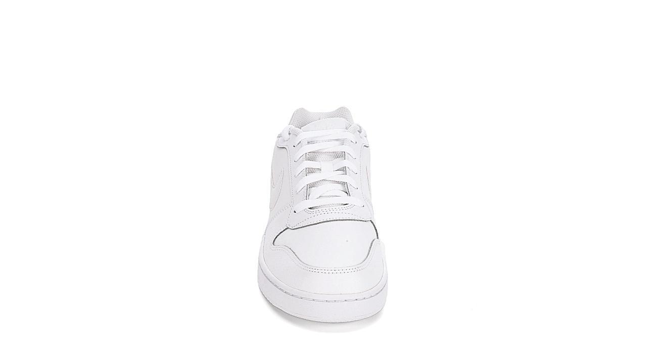 NIKE Mens Ebernon Sneaker - WHITE