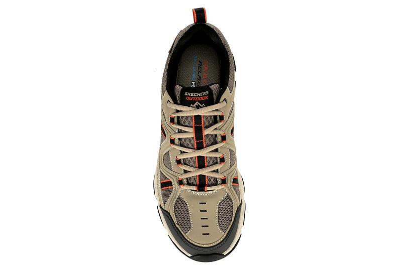 SKECHERS Mens Crossbar Sneaker - TAUPE