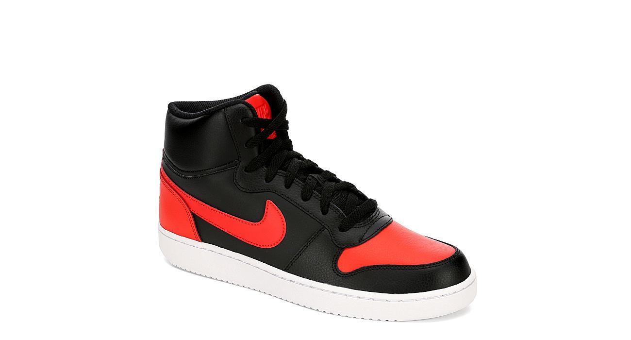 NIKE Mens Ebernon Sneaker - BLACK