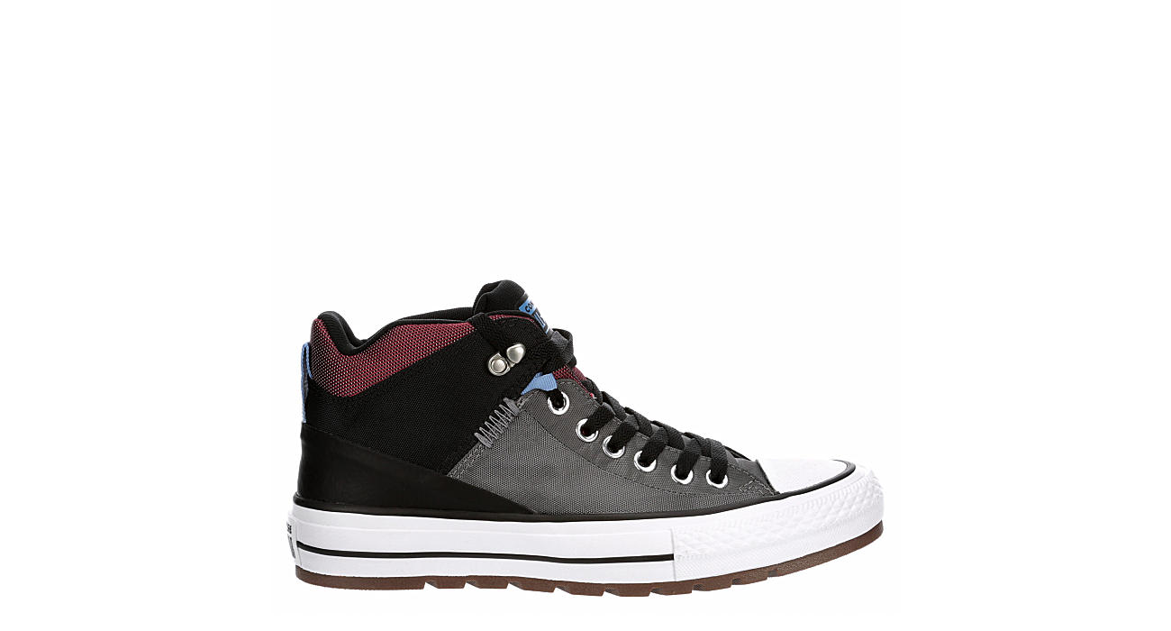 CONVERSE Mens Chuck Taylor All Star Street Boot Sneaker - NAVY