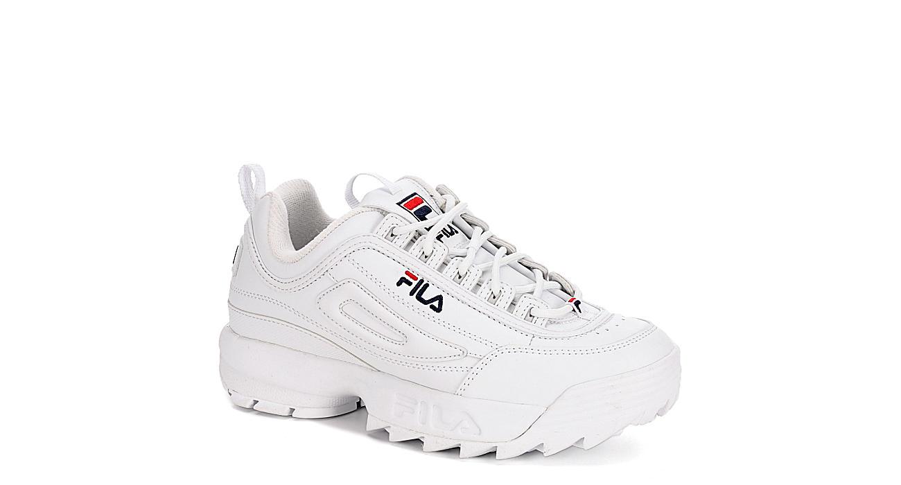 FILA Mens Disruptor Ii Sneaker - WHITE