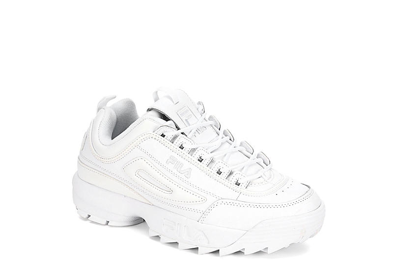 FILA vintage | Mens work shoes, White shoes men, Fila disruptors