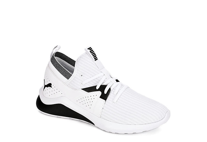 White Puma Mens Emergence Sneaker | Athletic | Off Broadway