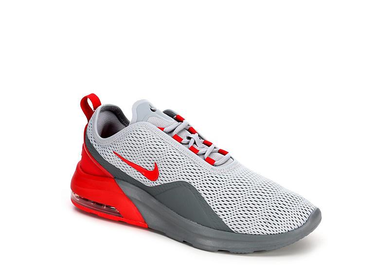 GREY NIKE Mens Air Max Motion 2 Sneaker