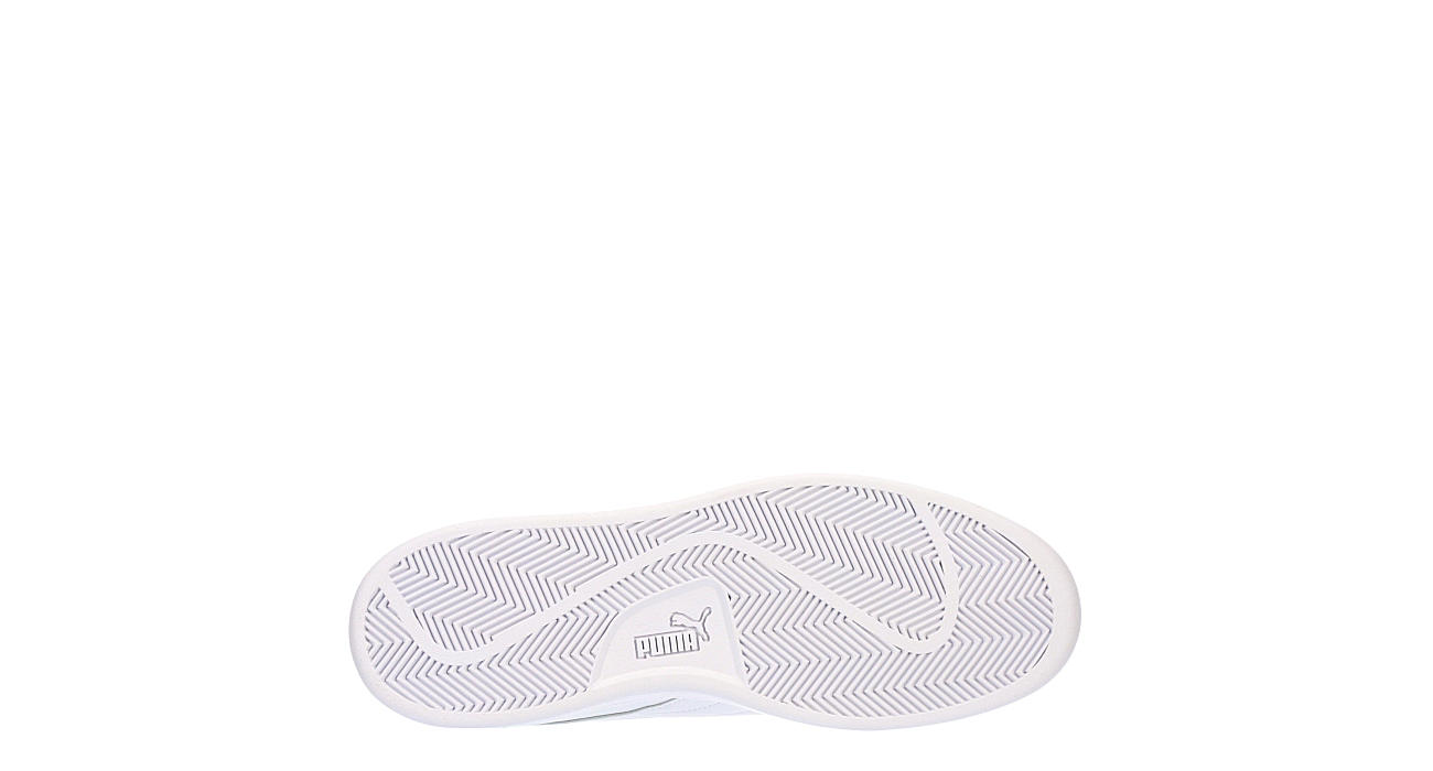 PUMA Mens Smash Sneaker - WHITE