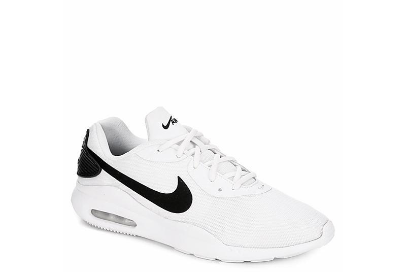 WHITE NIKE Mens Air Max Oketo Sneaker
